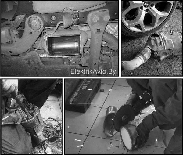 Очистка, ремонт и удаление сажевых фильтров в Минске