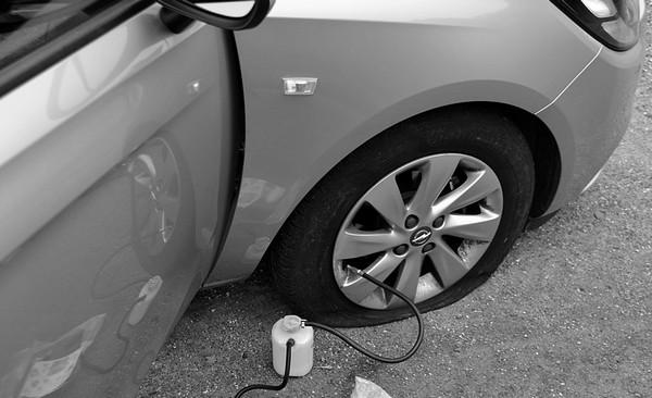 Как обойтись без запаски в дороге